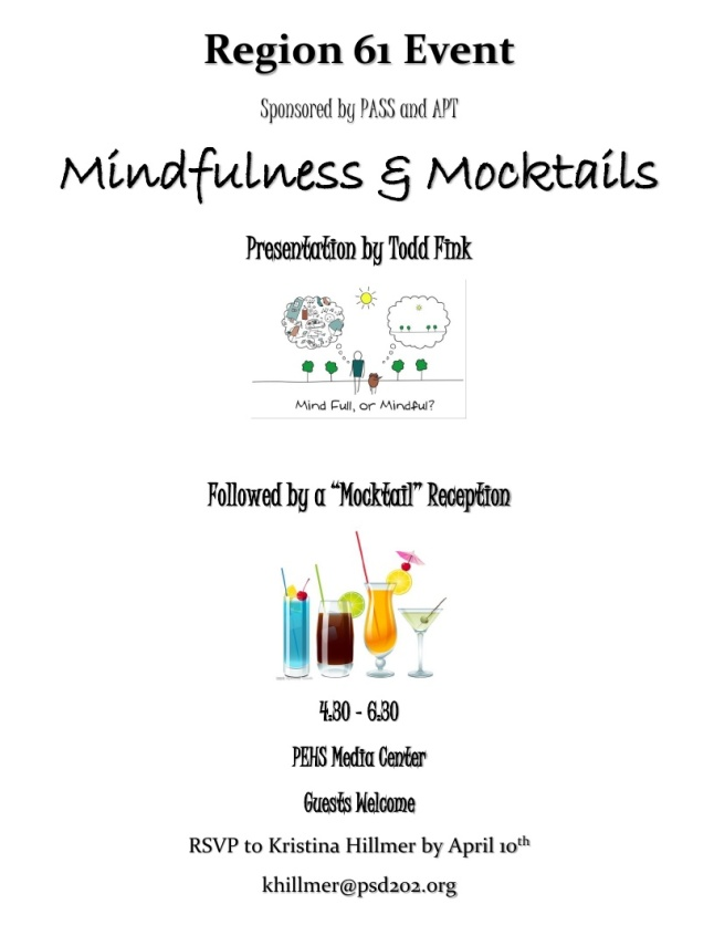 mindfulness and mocktails