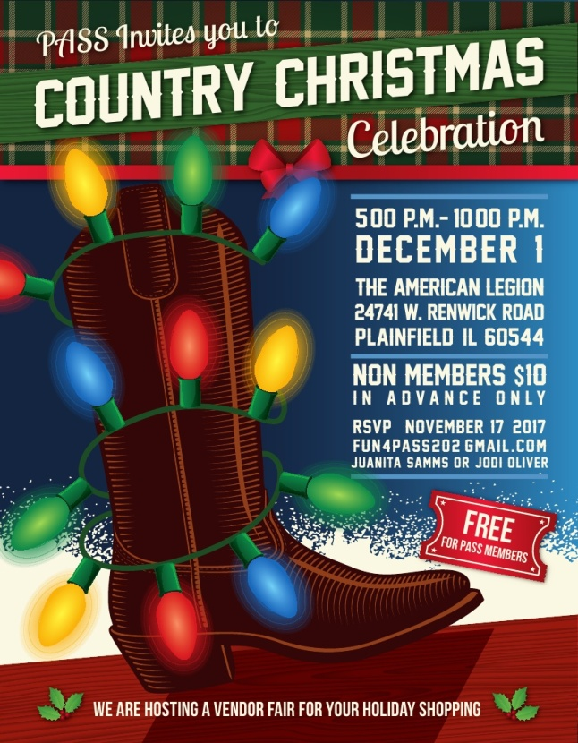 PASS Country Christmas